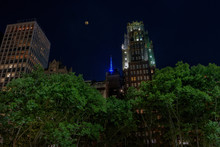 Full Moon From Bryant Park, Ne...