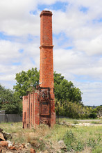 Chimney And Remains Of A Red B...