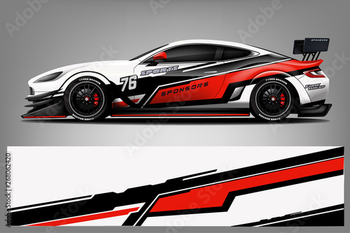 Obrazy Sporty Motorowe   sport-car-wrap-design-vector-truck-and-cargo-van-decal-graphic-abstract-stripe-racing-background