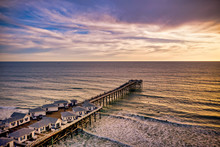 Crystal Pier In Pacific Beach,...