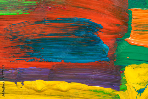 Fototapety, obrazy: Abstract art background. Hand-painted