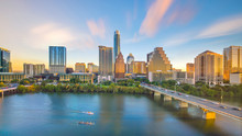 Downtown Skyline Of Austin, Te...