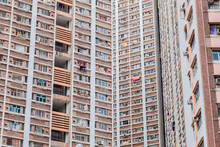 Public Housing Estate In Hong ...