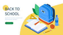 Back To School Concept With Te...