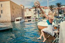Tourism Concept. Young Traveli...