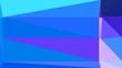 retro style triangle illustration. dodger blue, lavender blue and medium slate blue colors. for poster, cards, wallpaper design or backdrop texture