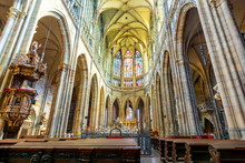 St. Vitus Cathedral Interiors ...