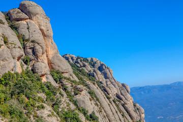 pięknych skał Montserrat
