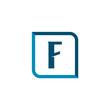 Initial Letter Logo F Template Vector Design