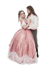 Beautiful Couple Woman And Man...