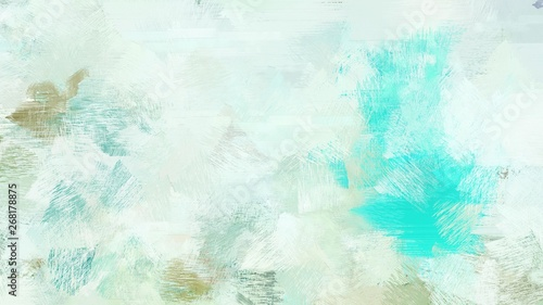 broad brush strokes of lavender, turquoise and sky blue color paint. can be used for wallpaper, cards, poster or creative fasion design elements