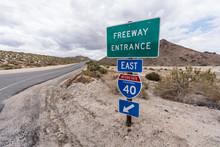 Interstate 40 East On Ramp Sig...