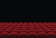 Rows Of Theatre And Cinema Sea...