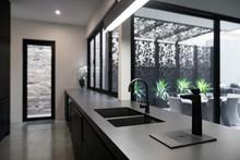 Dark Styled Kitchen In Contemp...