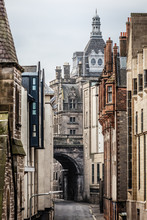 Cowgate Street In Edinburgh, S...