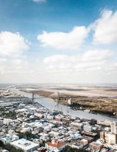 Aerial View Of Savannah, Georgia