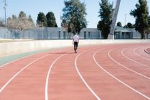 Man Walking On Track