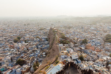 A View Of Jodhpur, India From ...