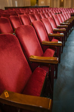Theater Seats In Red