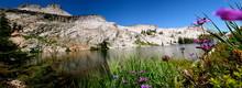 Hiking To May Lake In The High Sierra Mountains In Yosemite National Park In California