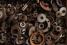 Rusty Metallic Details