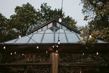 String Lights Decor And Glass Building