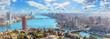 Beautiful panoramic view of Cairo city, Egypt