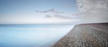 Pebble Beach At Dusk