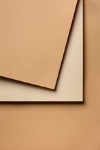 Cappuccino Brown Palette Paper Design