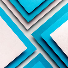 Material Design Concept Made Of Paper