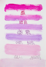Abstract Pink And Purple Strip...