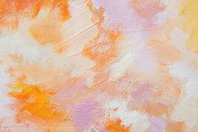 Soft Impressionistic Abstract Painting Detail