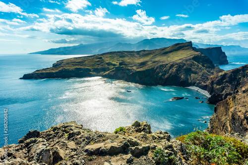 Fotografie, Obraz  Incredible view of the cliffs at Ponta de Sao Lourenco, Madeira