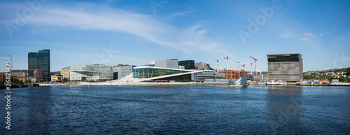 Oslo's Waterfront with it's new Culture Buildings Wallpaper Mural