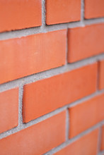Red Brick Wall Background, Clo...