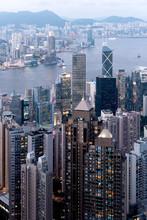 Hong Kong Views From Victoria Peak