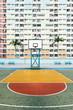 Basketball courtyard