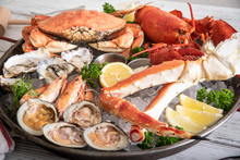 Gorgeous Seafood Platter Image
