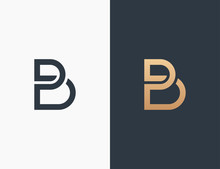 Letter B Logo Template Vector Illustration