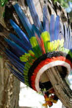 Indigenous Head Dress Made Wit...