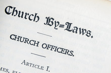 Christian Science Church By-laws In The Church Manual By Mary Baker Eddy
