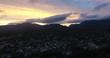 goldern purple sunset - table mountain