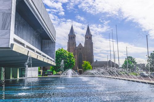 Valokuva  St. Walburgis church in Arnhem