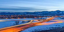 Winter Highway - A Panoramic O...