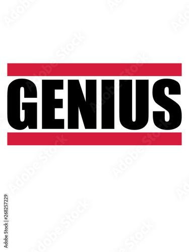 genius genie schlau wissenschaftler intelligent denker schulabschluss abitur stu Canvas Print