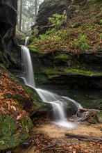 Secluded Ravine Waterfall - A ...