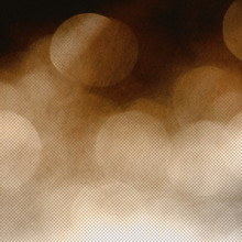 Abstract Copper Bokeh Image Wi...