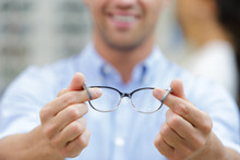 Close Up View Of Spectacles He...