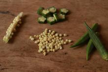 Okra Seeds Or Lady's Finger Se...