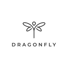 Dragonfly Logo Design Template